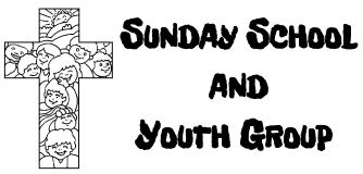 Sunday school and youth group